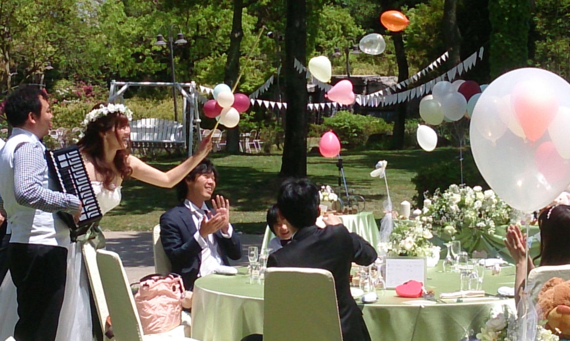 【公式】姫路市近郊にある森の中の結婚式|ホテルサンシャイン青山(姫路市)